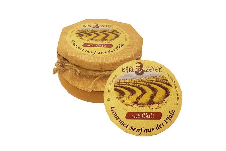 Teufels Senf mit Chili - Senf emol! Manufaktursenf aus der Pfalz