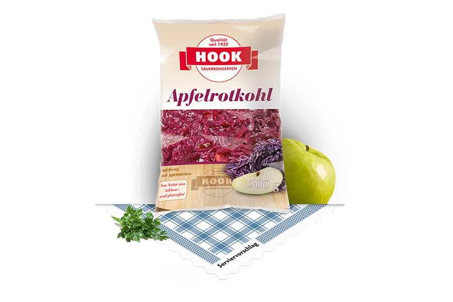 Hook Apfelrotkohl