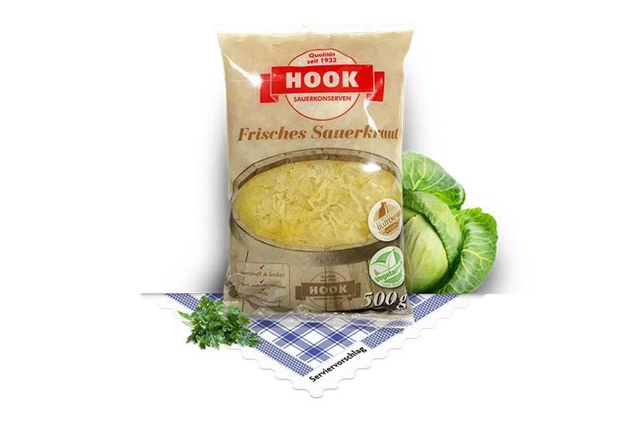 Hook Sauerkraut, roh