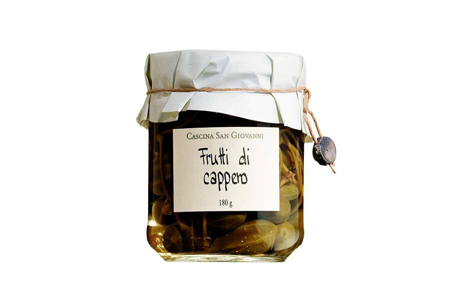 Kapernäpfel in Weinessig