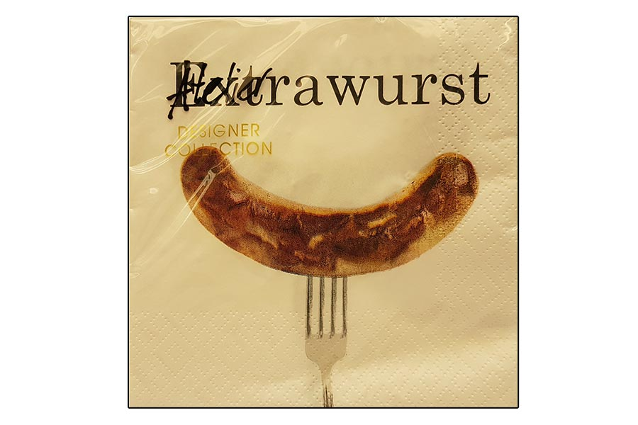 Servietten - Extrawurst -